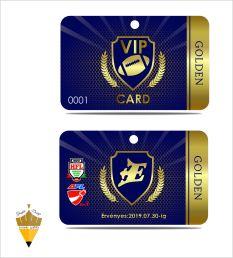 VIP kártya terv