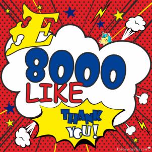 A 8000. like :)