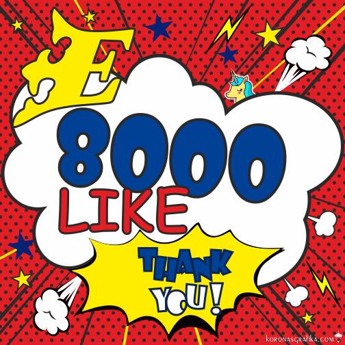 8000 likE