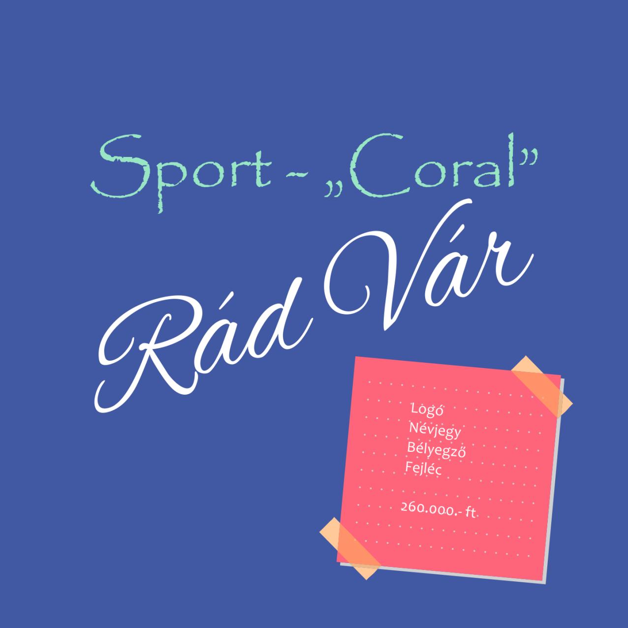 A korall is szereti a sportokat, főleg a vízben!
