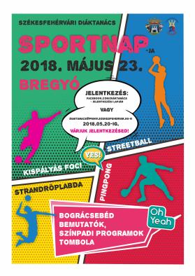 Sportnap plakát